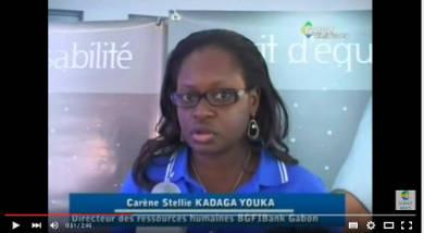 DRH interviewée pour le JT du soir du Gabon